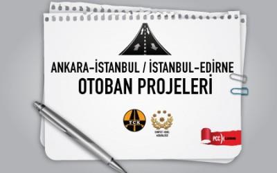 Ank - İst / İst - Edirne Otoban PTS Projeleri
