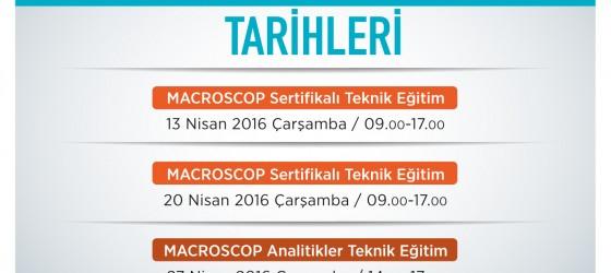 nisan teknik eğitim programı macroscop pcc analitik yazılım